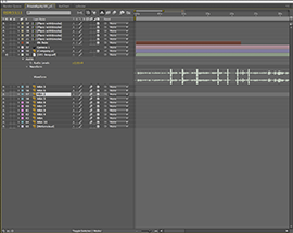 Soundtrack Pro Beep Track Screenshot