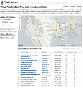 Toxic Waters Map Screen Shot